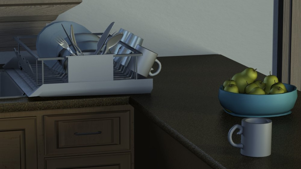 Copy of Fruit Bowl Dish Rack Detail