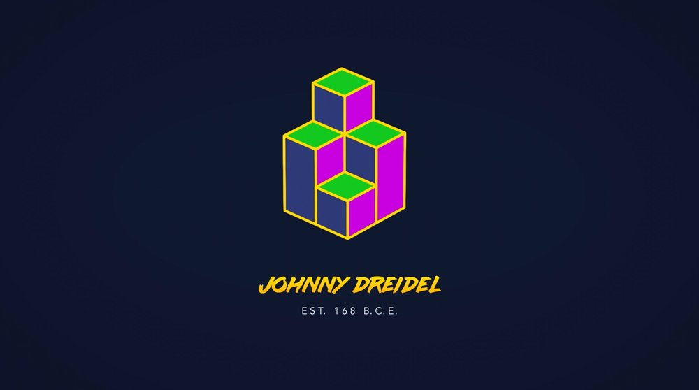 Johnny Dreidel Logo Animation