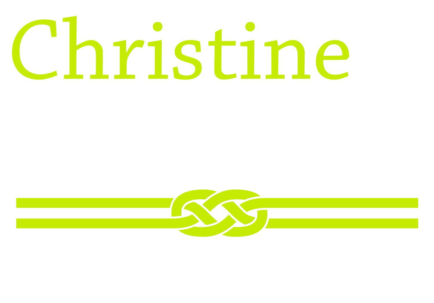 CHRISTINE LEWIS for METRO