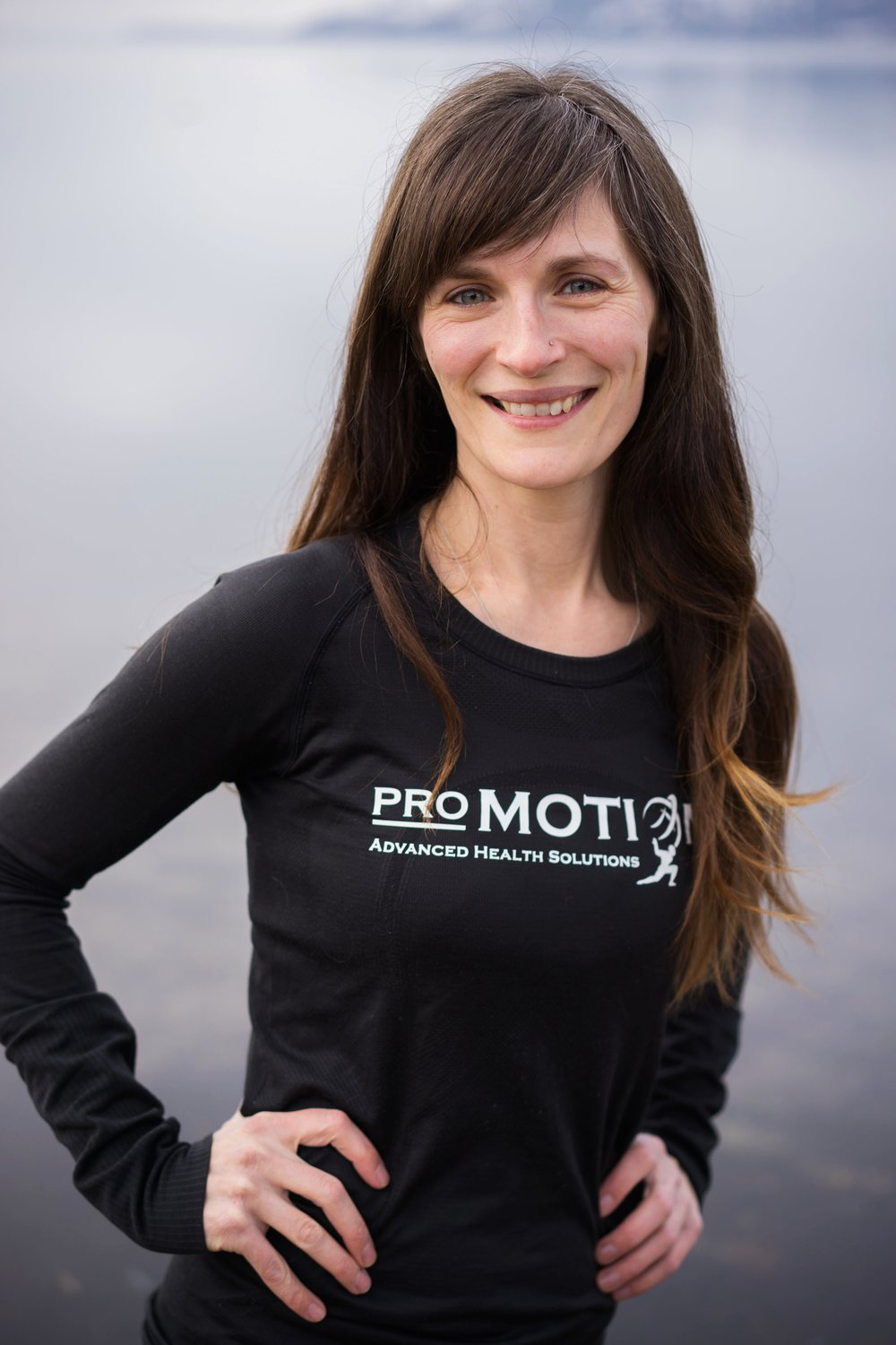 tina busetto - registered dietitian providing nutrition support - kelowna, pro motion clinic