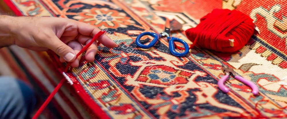 Repair - Any type of rug damage can be resolved with a professional restoration. We offer: reweaving, fringe replacement, re-dying, resizing, and much more!