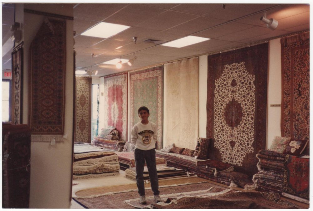 Me in my uncles' store in Naples, Florida (1990)