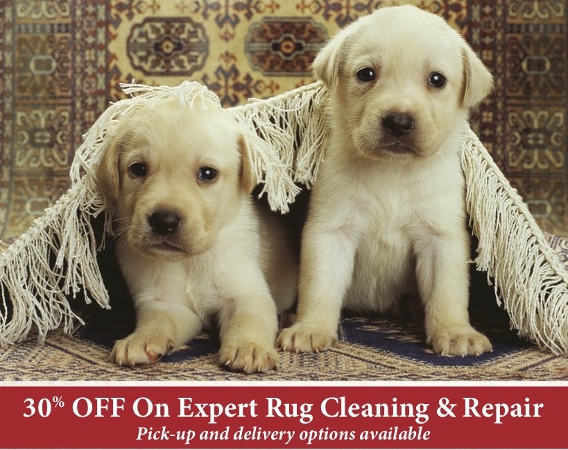 Services for your rug. -