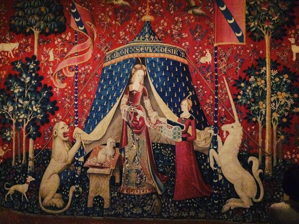 Tapestry 'A Mon Seul Désir' - The Lady and the Unicorn