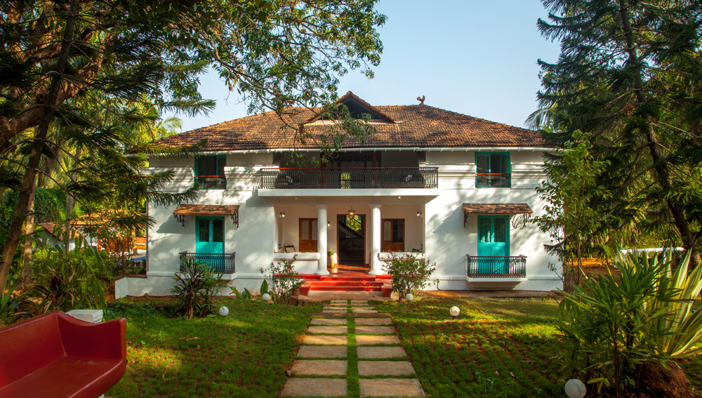The idyllic Island House