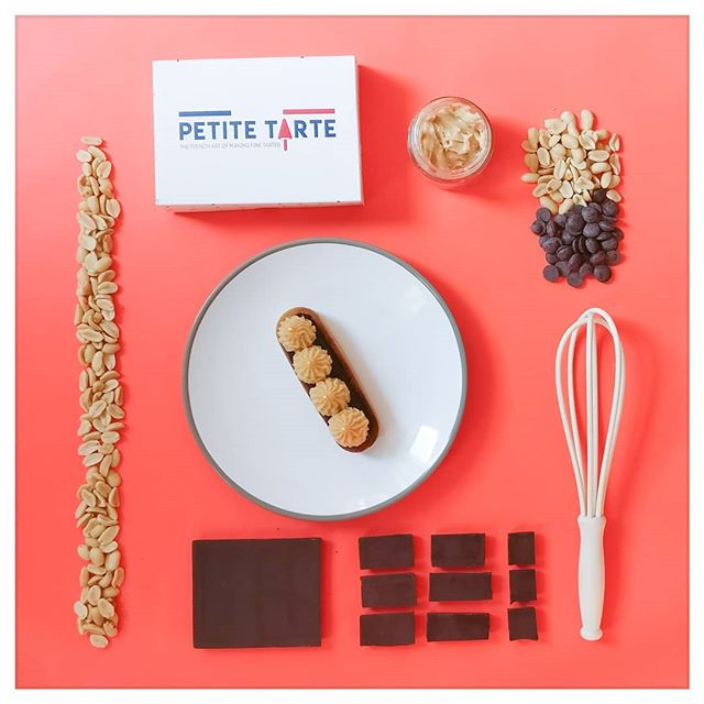 📢 YUMMY ALERT 📢  The intensity of dark chocolate ganache combined with th nutty/salty rich taste of peanut butter...May I introduce you Cacahouette! www.petitetarte.com/shop . . . #peanutbutter #darkchocolate #tartelettes #tartlets #tartes #tarts #yummy #delicious #shortcrust #homemade #madewithlove #cheflife #pastrychef #foodconcept #foodstagram #londonfoodie #foodie #foodfeed #londonfood #frenchfood #instafood