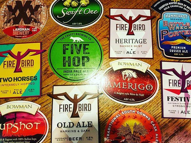 The beer forecast is looking rather promising this week ..... #craftbeer #realale #pub #surrey #local #surreylife  @firebirdbrewing @craftybrewing @langhambrewery