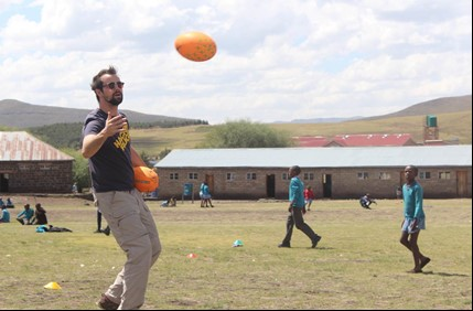 Dan Aylward-Mills Programme Director  Dan lived in Lesotho from 2011 - 2013 and is one of the founders of the Federation of Lesotho Rugby. He set up Lesotho Rugby Academy with Litsitso and continues to oversee all aspects of the programme