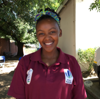 Grace Ts'episo Raphepheng - Tsepi has been playing rugby for five years, at first for her school and now for the Maseru Warriors. Tsepi says her whole life changed for the good when she discovered rugby., at a time when she had nothing. Her goal now is to offer other children the same experience and opportunity.