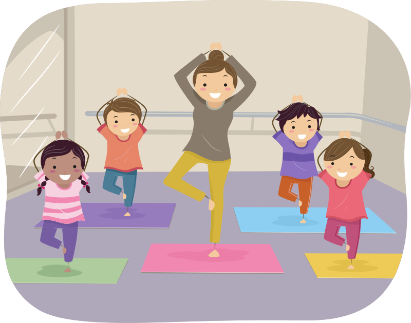 - • Animal theme-based yoga poses• Individual and Group breathing technique• Inspirational stories and yoga songs• Brain Gym exercises• Partner Yoga and group games