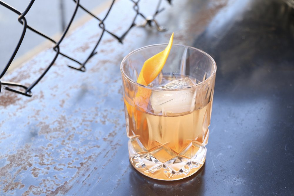 Husk Spiced Bam Bam Old Fashioned Cocktail