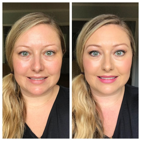 Before and After Makeup Tutorial