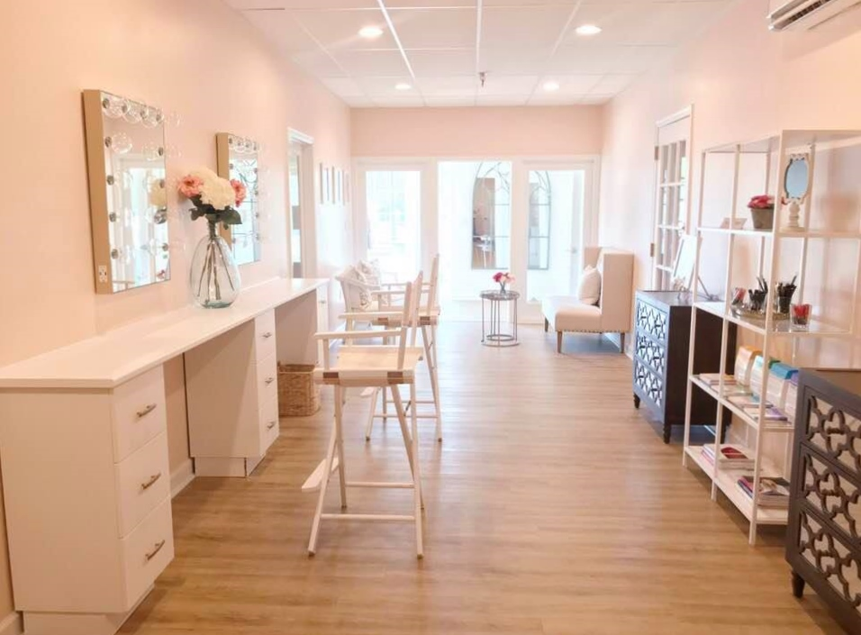 The Makeup Studio & Beauty Lounge, owned by Kim Porter, located in Virginia Beach, VA.