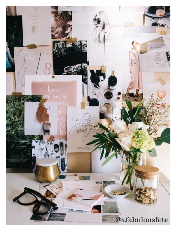 How to Vision Board Goal Setting