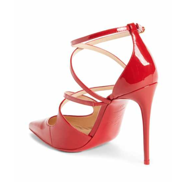 Christian Louboutin Crossfliketa pump available at Nordstrom www.shop.nordstrom.com/s/christian-louboutin-crossfliketa-pump-women