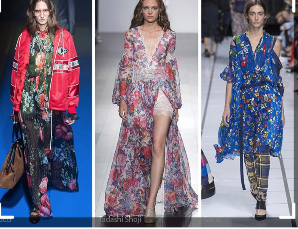 Gucci, Tadashi Shoji and Sacai elevate mixed prints to a dazzling (and dizzying) level for Summer 2018...but what about the rest of us?
