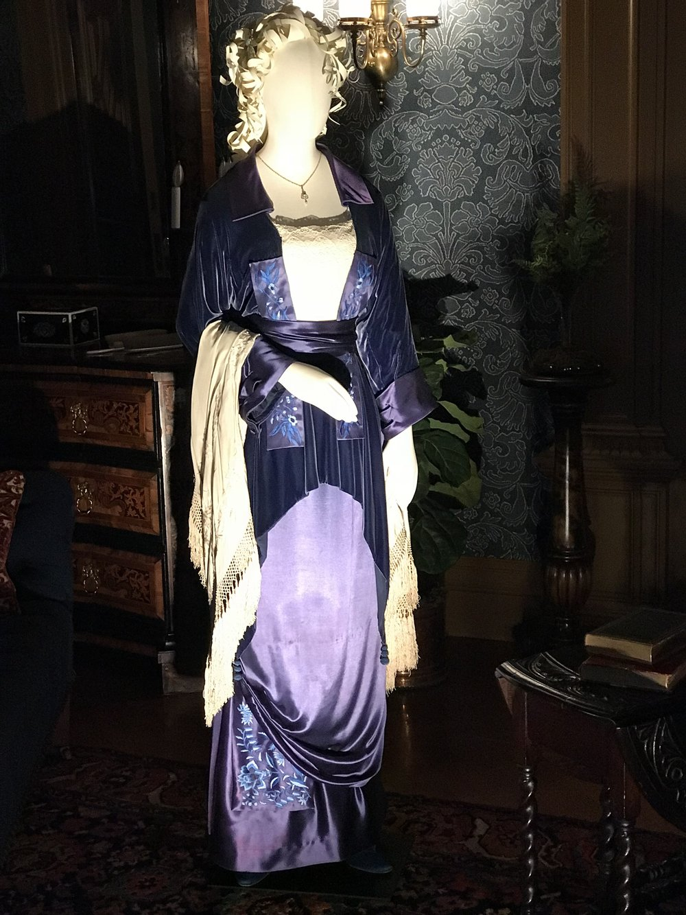 Rose DeWill Bukater's 'flying' gown