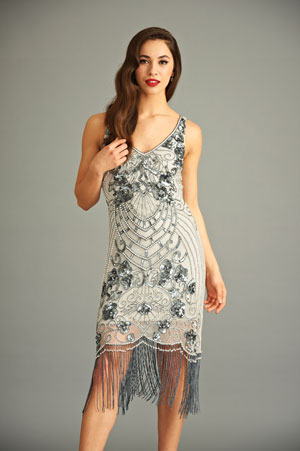 ba507b5ad40e frock and frill - Fashion brand whose vintage-conscious aesthetic includes  a line of 1920s