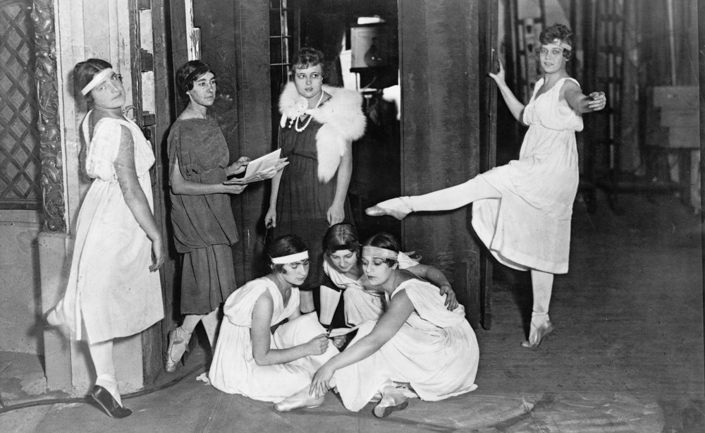 Serge Diaghilev's Ballets Russes limber up in New York