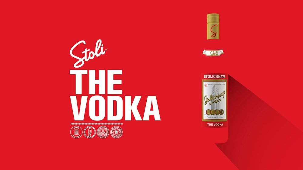 There will be no shortage of vodka at our party, thanks to heroic sponsorship Stolichnaya