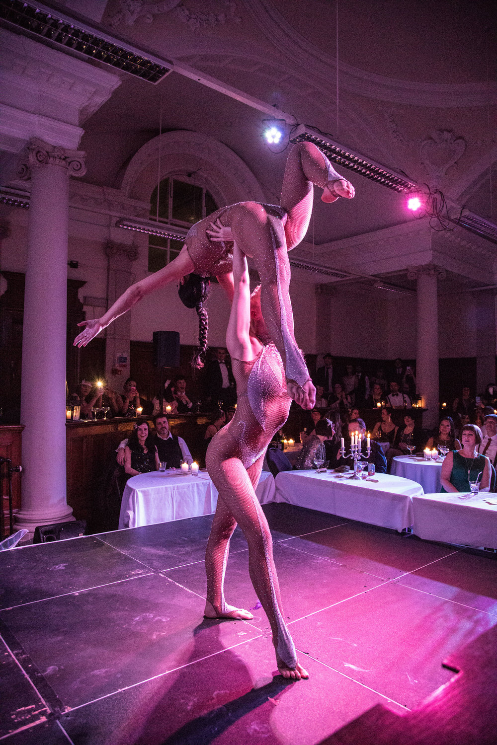 - Acrobats Deux Ailes in the Cabaret Lounge