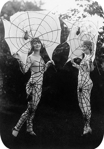 - And if you think that spider woman costume looks impractical here are some real ones
