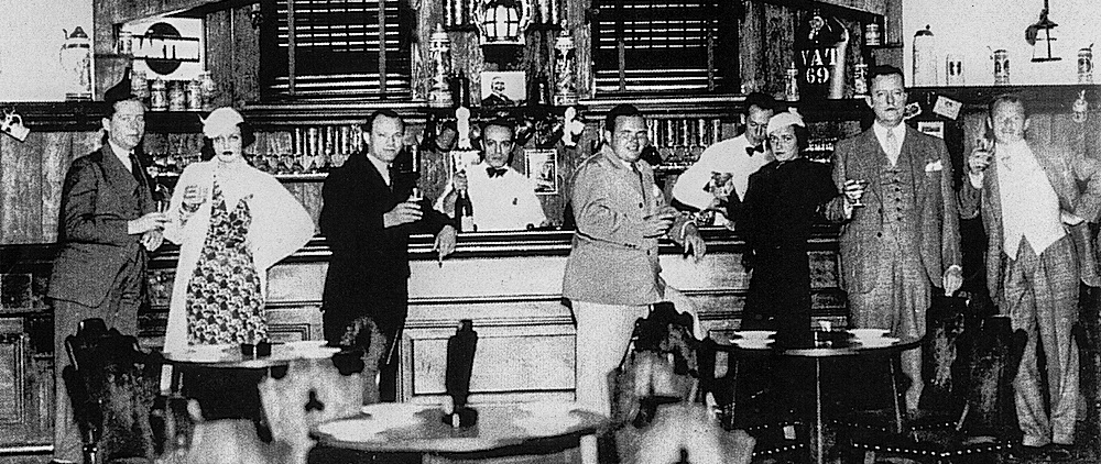 The Hunt Room of the 21 Club, late 1920s