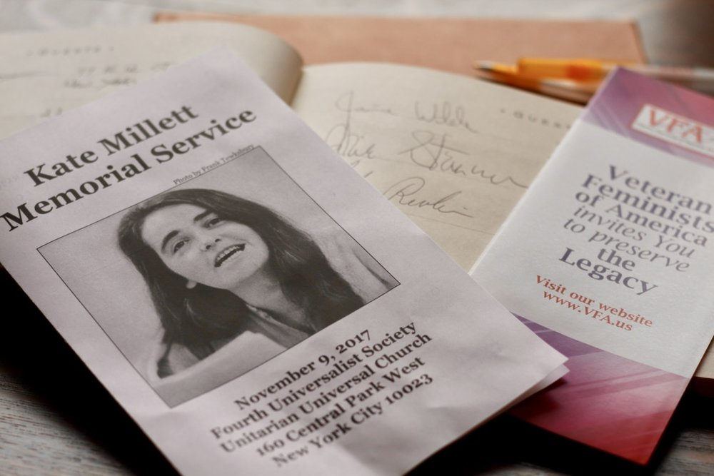 Gloria Steinem and Yoko Ono Join Hundreds to Remember Kate Millett -