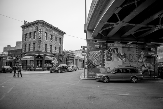 Local activists and entrepreneurs wrestle with gentrification in the South Bronx - Photo credit David