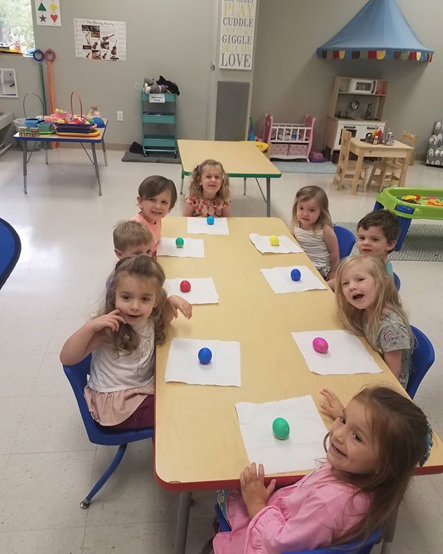 A little Easter egg fun this week at music school! 🐣 #music #musicschool #musiclessons #musicpreschool #mandevillela #sttammany #covingtonla #kidsactivities #kids #fun #easter #eastereggs #northlakeacademyofmusic #spring