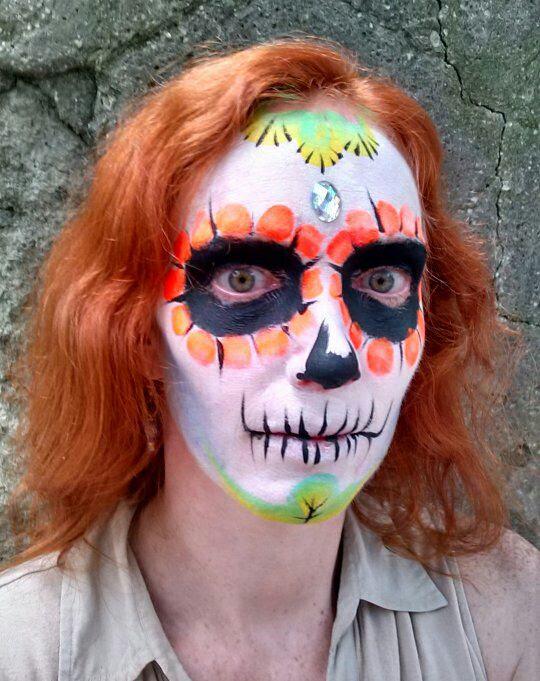 Dia de los Muertos Selfie