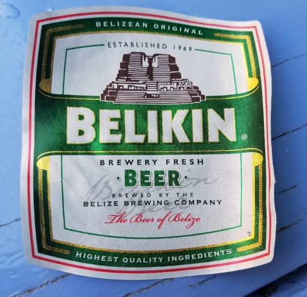 The official beer of Belize