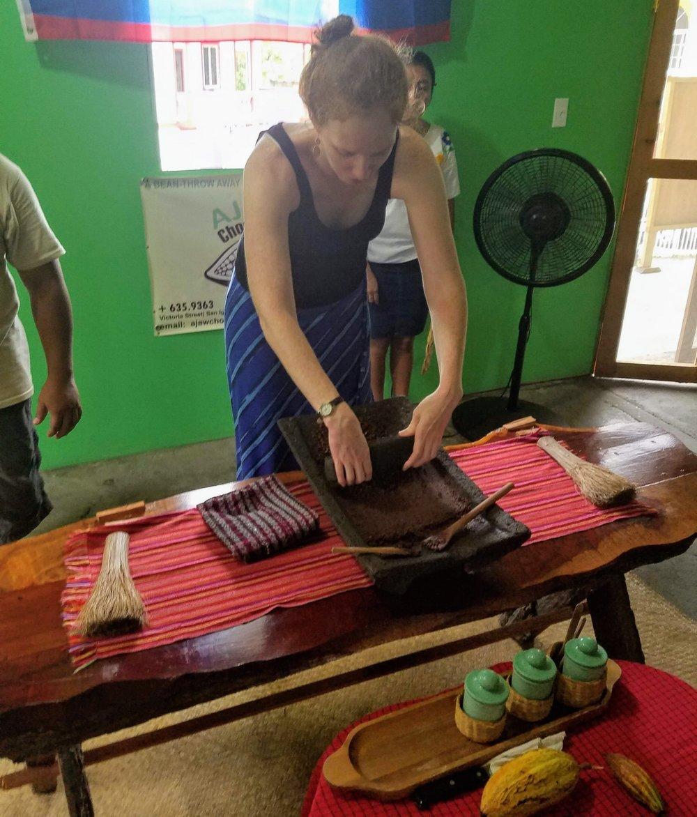 Ajaw Chocolate Making