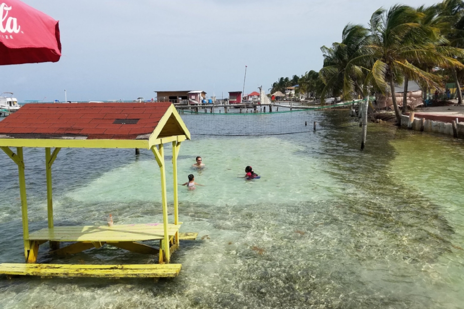 Island dining and sports