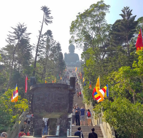 Steps to the Big Buddha