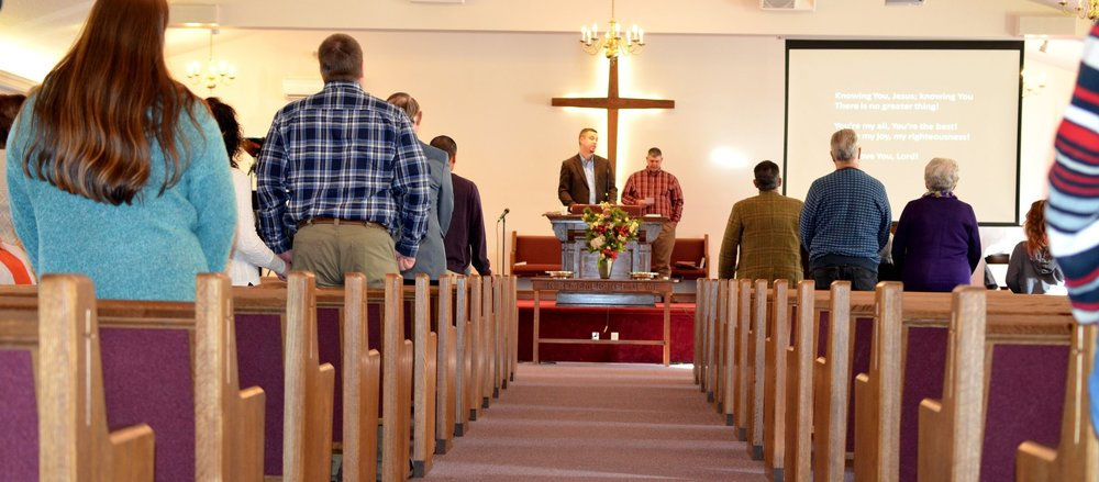 Loving God, Loving People, Making Disciples - together. - Sunday morning worship at 10am