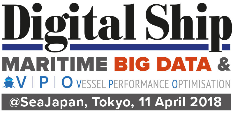 Digital Ship Maritime Big Data & Vessel Performance Optimisation @SeaJapan, Tokyo, 11 April 2018