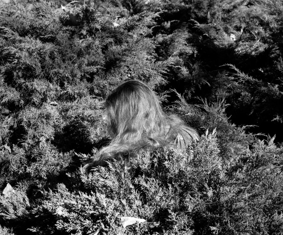 Untitled (Hair), 2012  signed, dated and numbered verso  gelatin silver print  20 x 24 inches  edition of 3 plus 2 artist's proofs