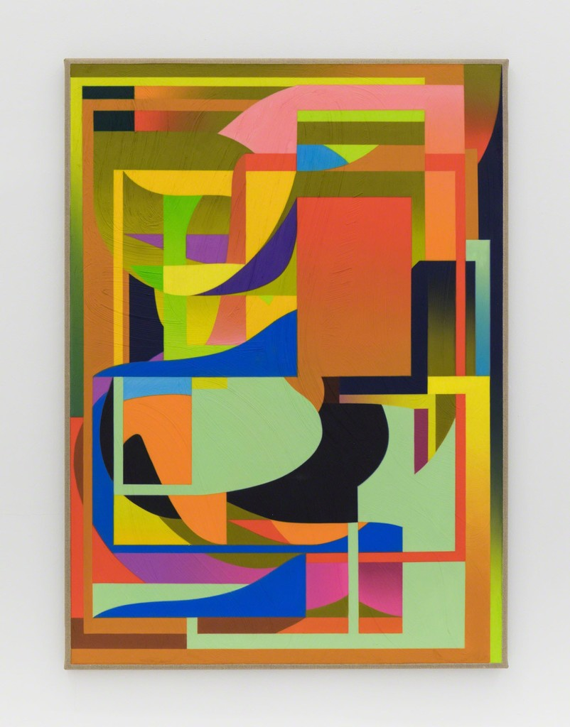 Untitled , 2017  Oil on linen  51 × 37 in