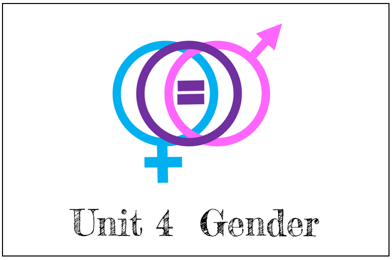 Overview: This unit provides an introduction to gender studies. It begins by reviewing the complexities of unpacking biology and social construction, and then dives into hetero-patriarchal systems of oppression. Close reading lesson topics include patriarchy, misogyny, toxic masculinity, the gender pay gap,transgender marginalization, and more.