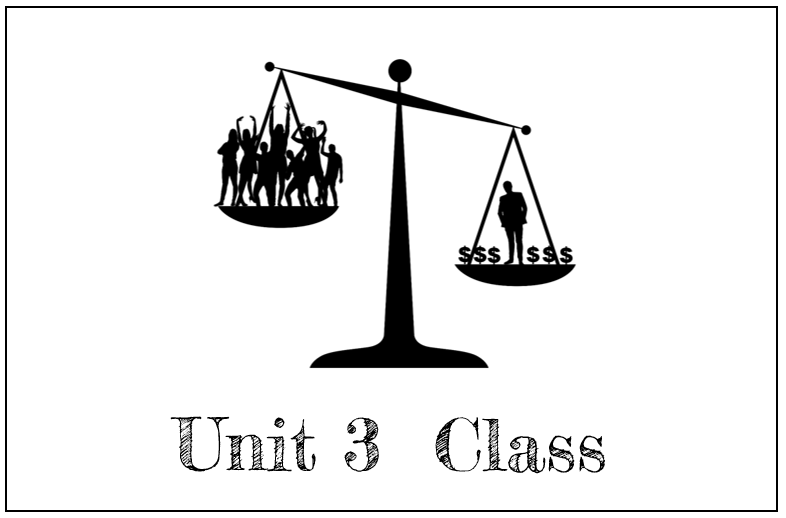 """Overview: This unit provides a foundational understanding of economics and economic systems in order to lead students to an understanding of what """"class"""" actually means, and how """"class"""" relates to systems of oppression. Terms covered by this unit include economics, capitalism, Communism, Socialism, meritocracy, trickle-down economics, the New Deal, poverty, and of course, """"class."""""""