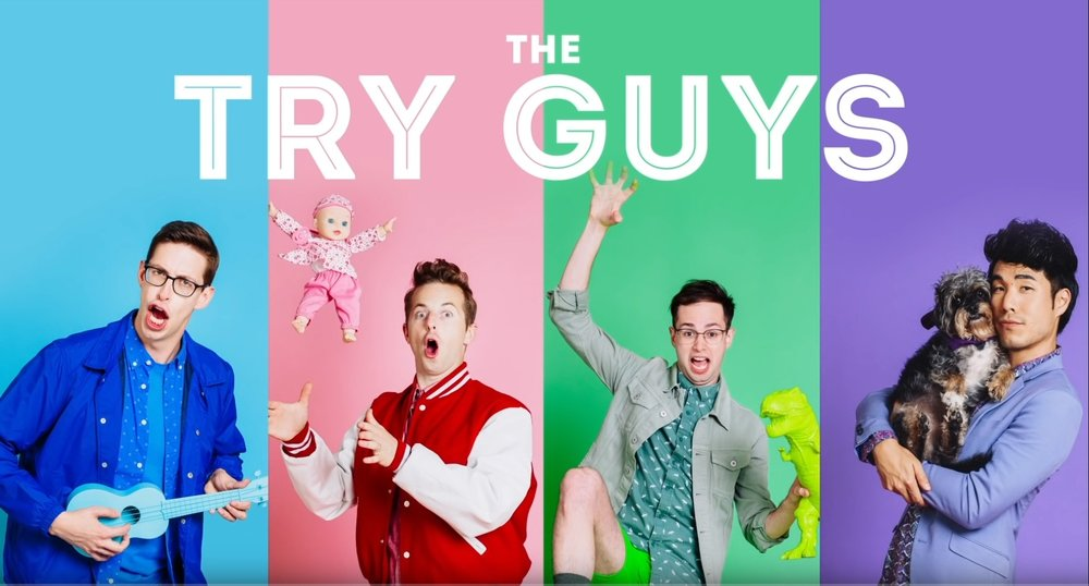 The 'Try Guys' Try Acupuncture for the First Time!
