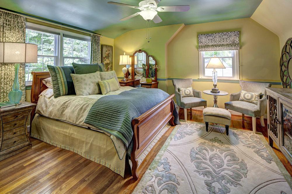 Vintage inspired Master Bedroom in Green.jpg