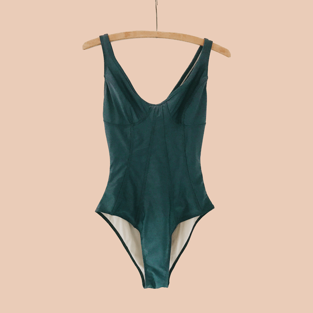 A Dreamy Structured One-piece