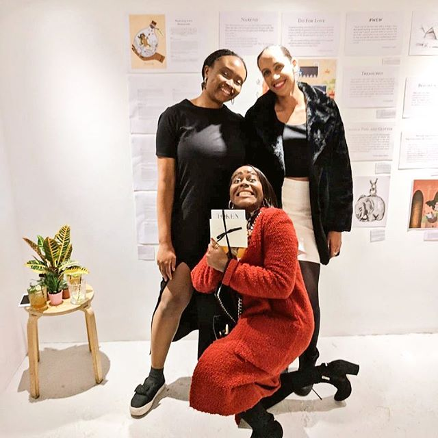 Super cute #tbt pic of some of our Issue 3 contributors at our launch party in November! 🥳  There are still copies of Issue 3 left (see the link in our bio) AND we've got a few more copies of Issue 2 in stock 💕