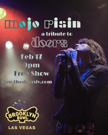 Saturday February 17 2018. We will be performing at the  Brooklyn Bowl  . Doors open at 8pm. Show starts at 9pm. Free Show. 18 and up!