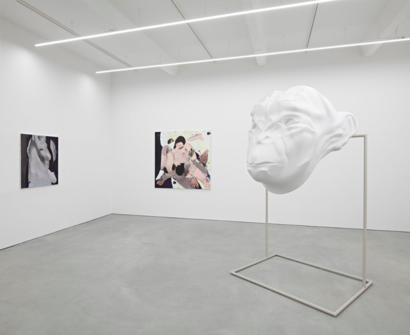 Installation View,  Cthonic Rift , K-T-Z, Berlin