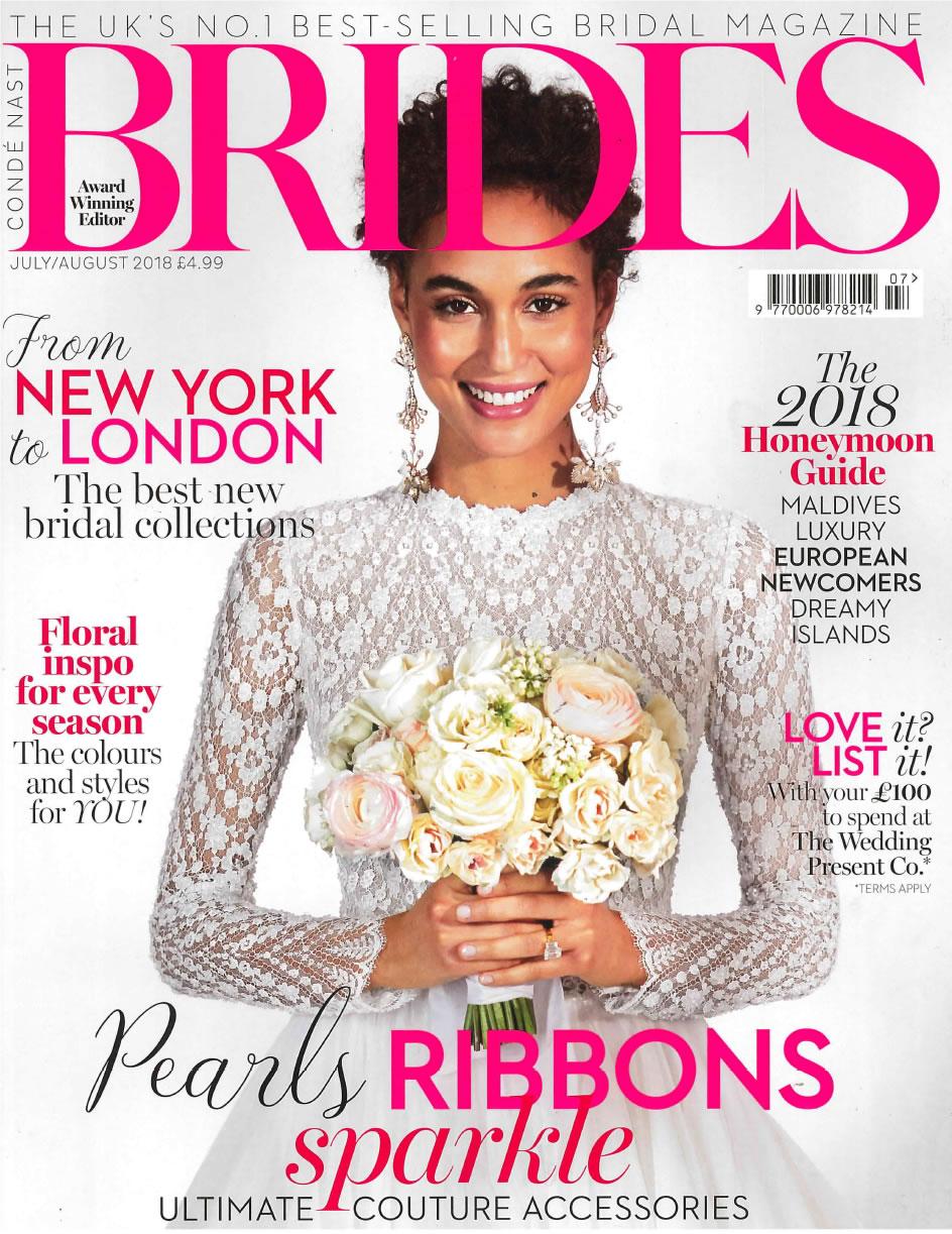 BRIDES MAGAZINE JULY/AUGUST 2018 -