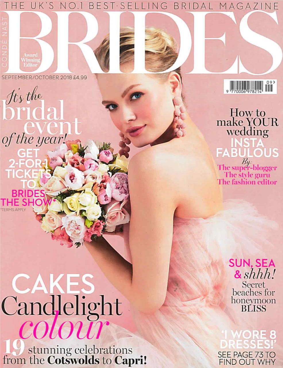BRIDES MAGAZINE SEPT/OCTOBER 2018 -