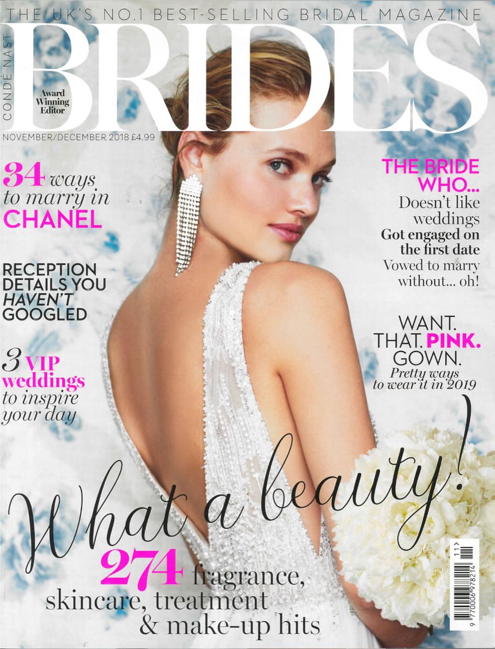 BRIDES MAGAZINE NOV/DECEMBER 2018 -